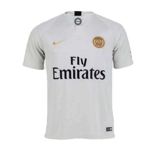 458d9f1b1 18-19 PSG Away Light Gold Soccer Jersey Shirt - Cheap Soccer Jerseys ...