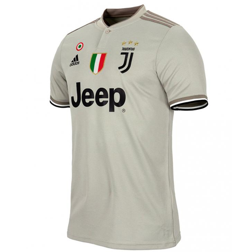 e56d64b12 18-19 Juventus Away Gray Soccer Jersey Shirt - Cheap Soccer Jerseys ...