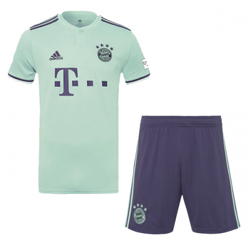 18-19 Bayern Munich Away Soccer Jersey Kit(Shirt+Short) - Cheap ... d23b54465