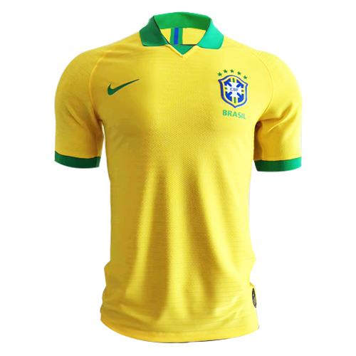 b69972cd9 2019 Brazil Home Yellow soccer Jerseys Shirt(Player Version) - Cheap ...