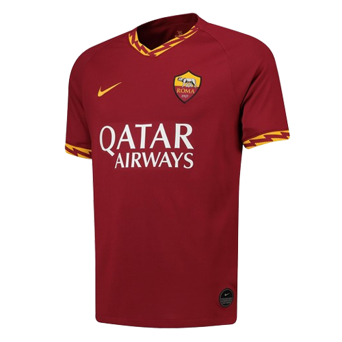 quality design c81e9 cc8d5 19-20 Roma Home Red Soccer Jerseys Shirt