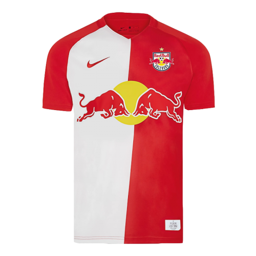20 21 Fc Red Bull Salzburg Home Red White Soccer Jerseys Shirt Cheap Soccer Jerseys Shop Minejerseys Cn
