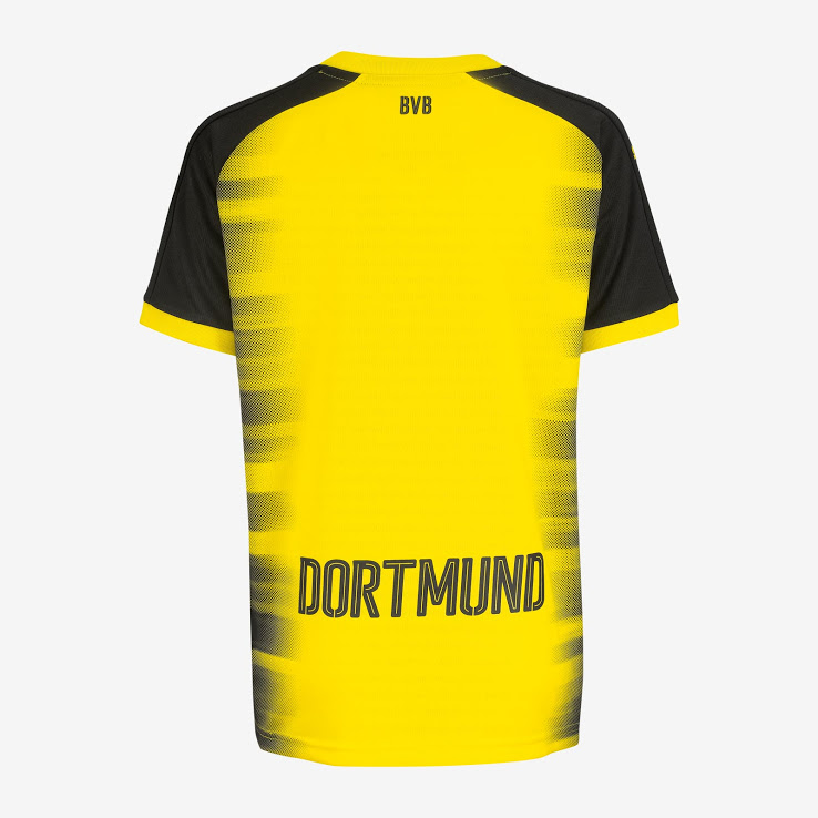 buy online fd083 7fa14 17-18 Borussia Dortmund Champion League Home Soccer Jersey Shirt