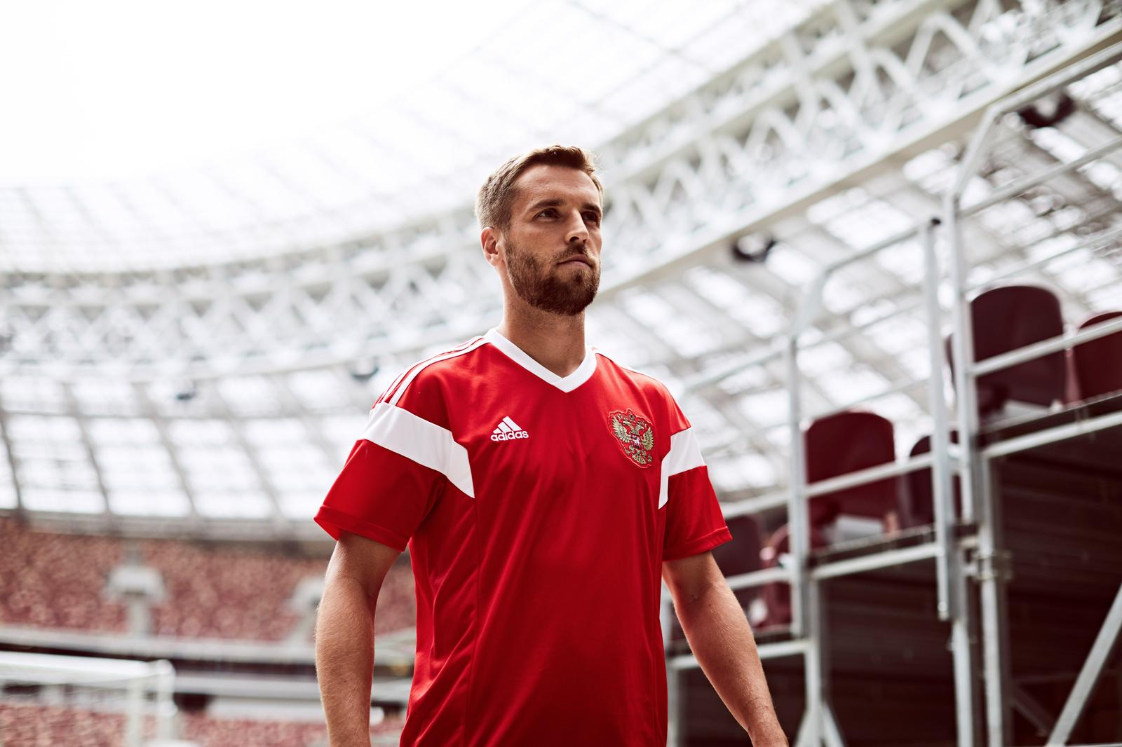 on sale c61d0 68f01 2018 World Cup Russia Home Red Soccer Jersey Shirt