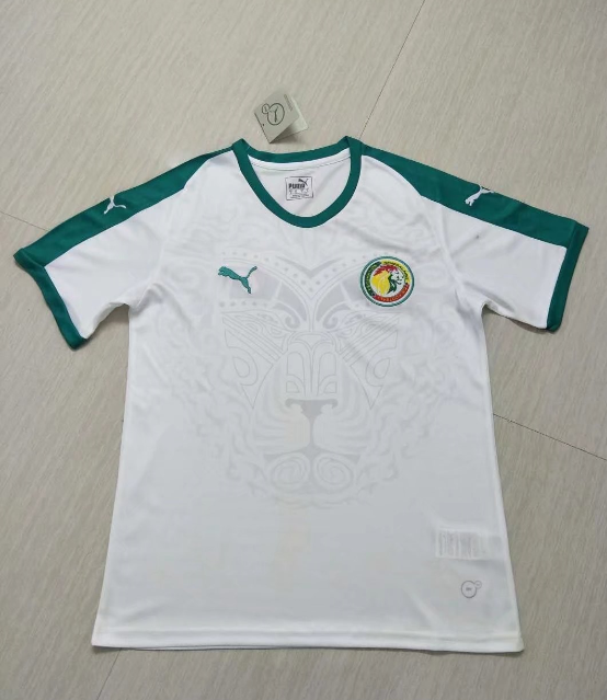 7867bc53a99 2018 World Cup Senegal Home White Soccer Jersey Shirt - Cheap Soccer ...