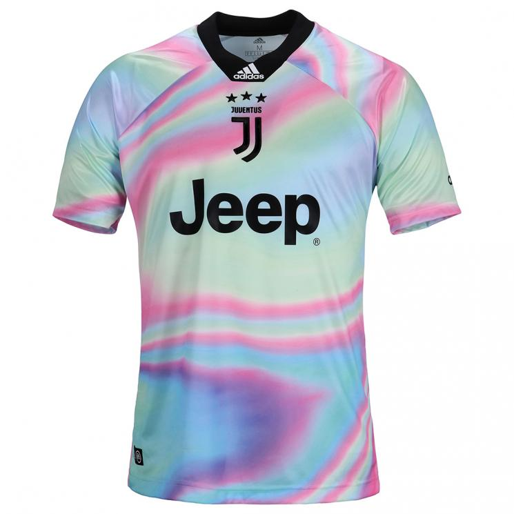 half off df7a2 e199e 18-19 Juventus EA Sports White Jersey Shirt