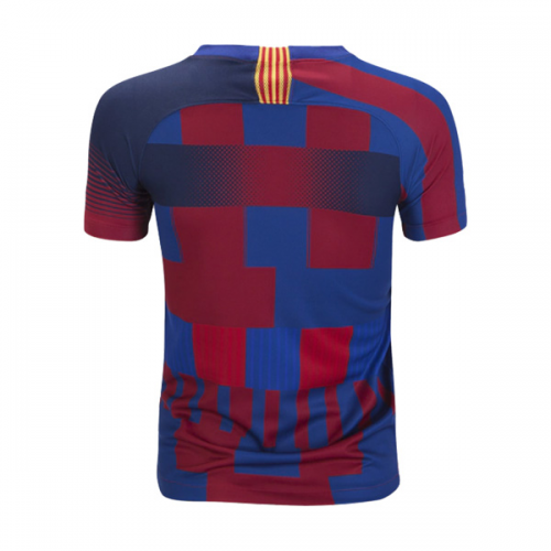 fd3ec1eb9 The NK FC Barcelona Mashup soccer jersey features elements of all Barcelona  kits worn by the club over the last two decades.