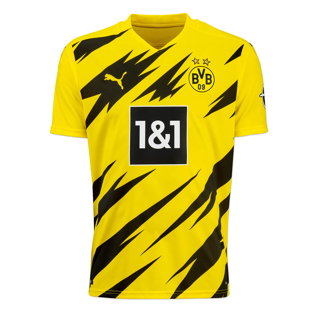 20 21 Borussia Dortmund Home Yellow Soccer Jersey Shirt Player Version Cheap Soccer Jerseys Shop Minejerseys Cn